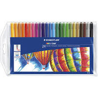 Staedtler Noris Club Fibre Tip Pen 24 Shades (325 C 24)