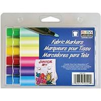 Marvy Fabric Markers (6 Colours)