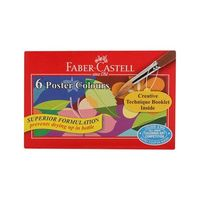 Faber Castell Poster Colour 6 Shades (Cardboard)