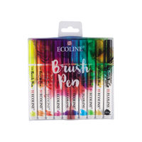 Royal Talens Ecoline Brush Pen Set 10 Shades