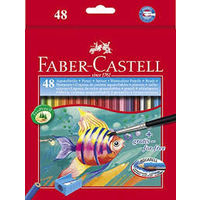 Faber Castell Aquarelle Water Colour Pencil 48 Shades