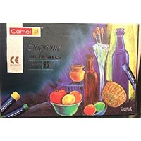 Camel Supreme Oil Pastel ( 25 shades)
