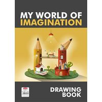 Anupam My World of Imagination Drawing Book - 60 Pages, A4