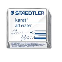 Staedtler Karat Art eraser - 2Pcs (kneadable special & cleaning eraser) 5427
