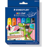 Staedtler Noris Club Gel Crayons Basic Colors 6 Shades (2390 C6)