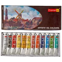 Camel Artist Oil Colour Box (20 ml, 12 Shades)