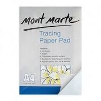Mont Marte Tracing Paper Pad 60gsm 40 sheet A4 (MSB0017)