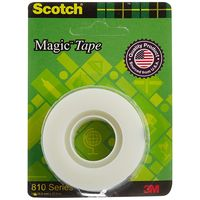 Scotch Magic Blaster Transparent Tape, 19 mm x 32.9 m