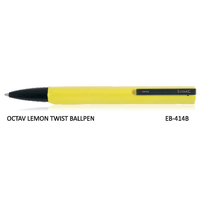 Signac Octav Twist Ball Pen Lemon Coloured Body (EB-414B)