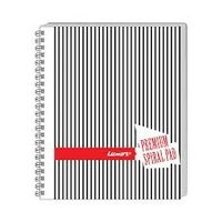 Luxor Side Spiral Note UnRuled NotePad