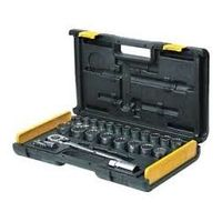 Stanley 1/2 inch Drive 12 Point Socket Set 26 pcs (86-478)