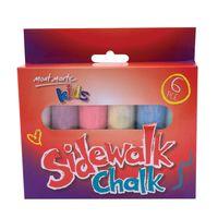 Mont Marte Kids Sidewalk Chalk 6pcs (MMKC0153)