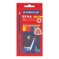 Staedtler Luna Triangular Water Color Pencil 12 Shades (137 10 C12)