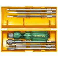 Taparia Screw Driver Set with Neon Bulb -No: 840