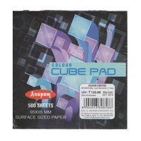 Anupam Colour Cube Pad 95X95mm 500 Sheets