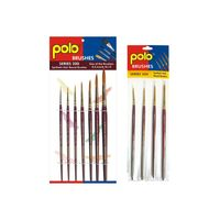Polo Synthetic Hair Round Set of 4