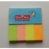 Soni Officemate Sticky Notes (4 Colours, 50 Sheets)