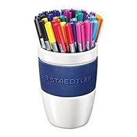 Staedtler Triplus Fineliner Pen Coffe mug of 40 nos( 334 CM40)
