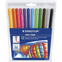 Staedtler Noris Club Fibre Tip Pen 12 Shades (325 C 12)