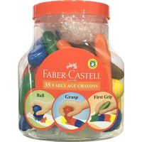 Faber Castell 35 Yearly Age Crayons