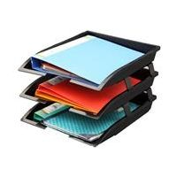 Solo Paper & File Tray (3 Pcs. Set)