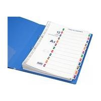 Solo Separatorz (With Index - Set of 20) - A To Z (A4 Size)