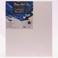 Pidilite Fine Art Canvas Board 12 X 16