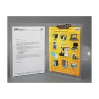Solo Punchless File (Flap closer+ top side clip) (A4 Size)