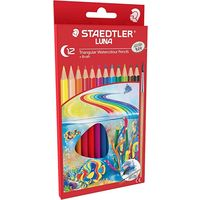 Staedtler Luna School Triangular Water Color Pencil 12 Shades (138 10 C12)