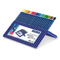 Staedtler Ergosoft Aquarell Triangular Watercolour Pencil Box Of 24