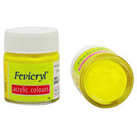 Fevicryl Acrylic Colour Lemon Yellow 15ML (211) (Pack of 5)