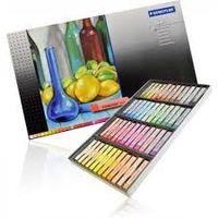 Staedtler Karat Soft Pastel Chalk, (48 Colours in Cardboard Box) 2430 C48