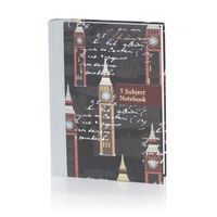 Nightingale Inscribe 5 Subject Notebook Standard Size Ruled 400 Pages