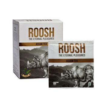 Coffee Day Roosh Assam Fuso Tea bag - Pack of 2, 48gm