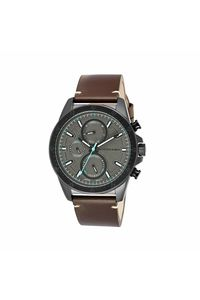 Giordano Men's Watch Multi Function Display- 1942-03, brown, grey