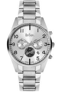 Men's Super Metal Band Watch - LC06313, silver, silver, silver