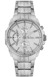 Men's Super Metal Band Watch - LC06511, silver, silver, silver