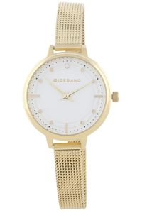 Giordano Women's Watch Analog Display - 2872-88, silver, silver