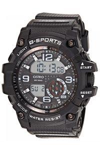 Astro Kids Black Plastic Watch - A8905-PPBB, black, black, black