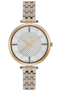 Women's Super Metal Band Watch - LC06464, two tone gold, gold, silver