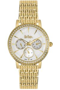Women's Super Metal Band Watch - LC06375, rose gold, rose gold, silver