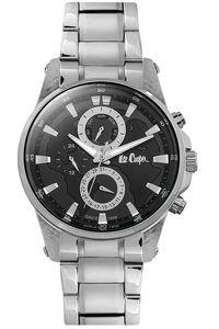 Men's Super Metal Band Watch - LC06539, black, silver, silver