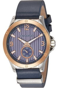 Giordano Men's Watch Chronograph Display- 1765-02, blue, blue