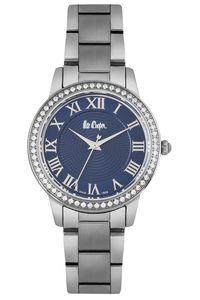 Women's Super Metal Band Watch -LC06579, blue, grey, grey