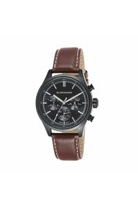 Giordano Men's Watch Multi Function Display-1907-04, brown, black
