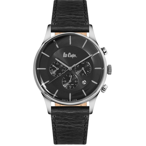 Men s Leather Band Watch -LC06491
