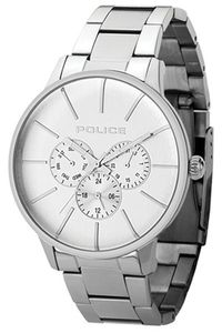 Men's Stainless Steel Band Watch - P 14999, silver, silver, silver