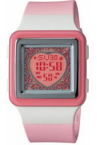 Women's Resin Band Watch - LDF-21, pink, pink, pink