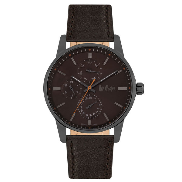 Men s Leather Band Watch -LC06675