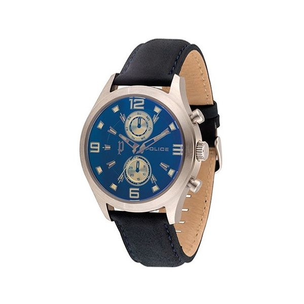 Men s Leather Band Watch - P 14207